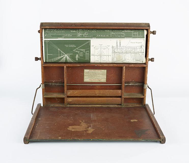 Industrial Art Desk