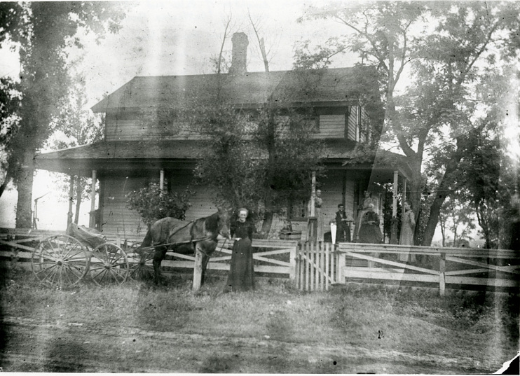 Glass Family Homestead, Scott, Wisconsin, after 1862