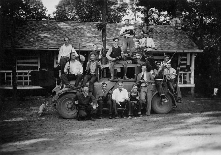 Birger Gang, about 1924
