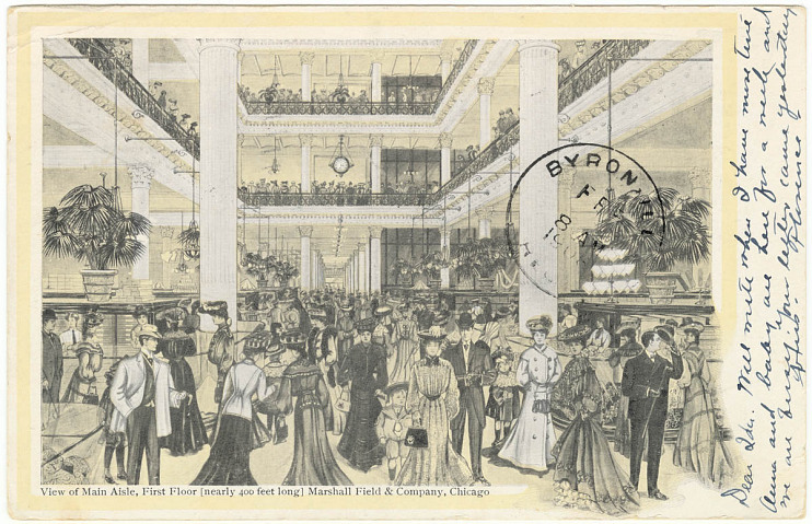 Marshall Field department store, Chicago, Illinois, 1906