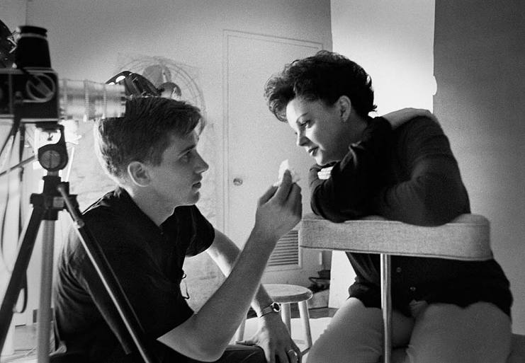 Douglas Kirkland with Judy Garland, New York City, 1961