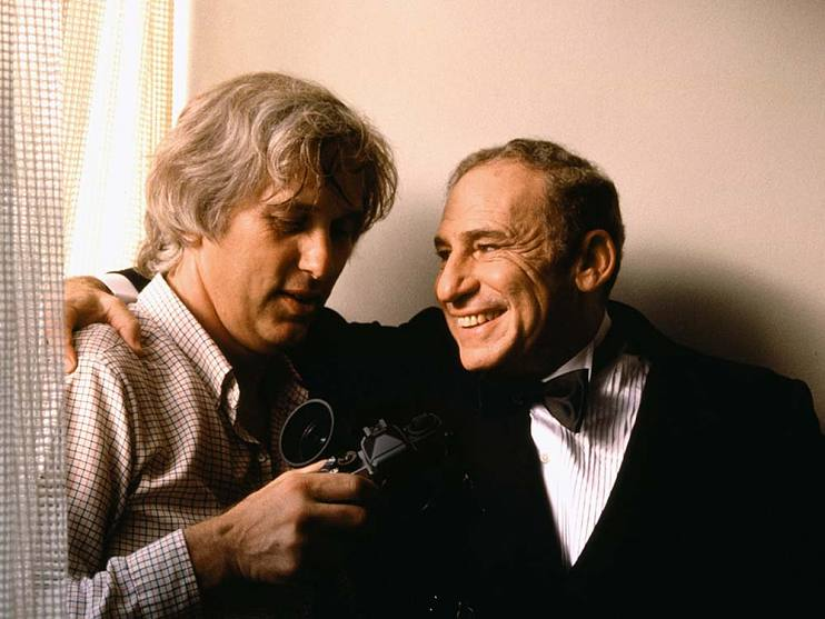 Douglas Kirkland and Mel Brooks, 1983
