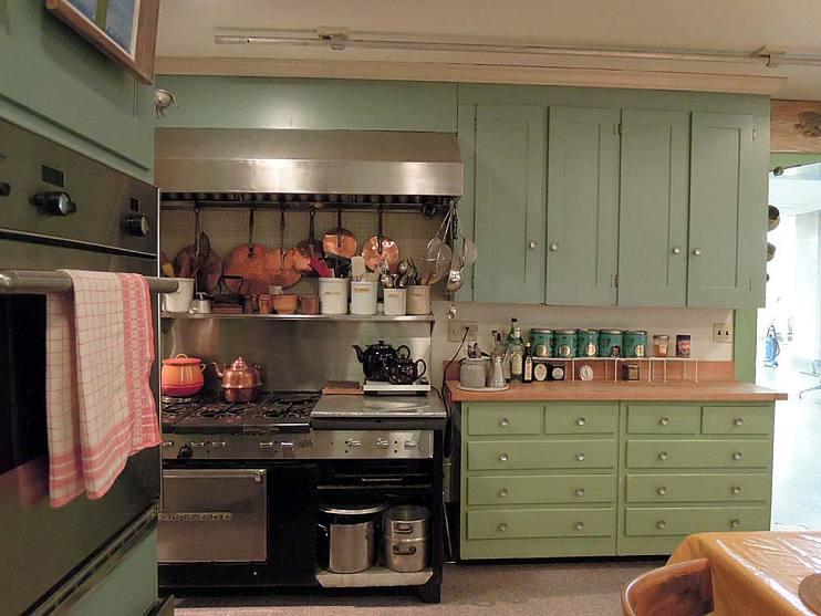 View of Julia Child's kitchen