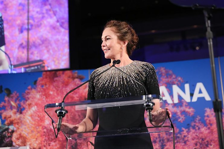 Diane Lane receiving honors at Oceana New York Gala, September 2019