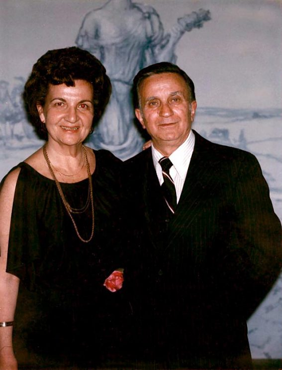 Leonsis's mother and father