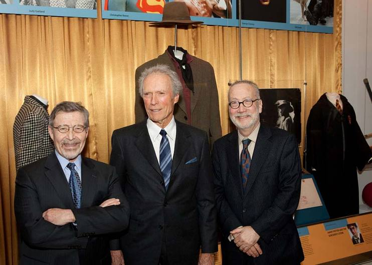 Barry Meyer, Clint Eastwood, and Marc Pachter at the National Museum of American History in 2012