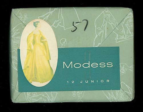 Modess, 12 Junior, late 1940s