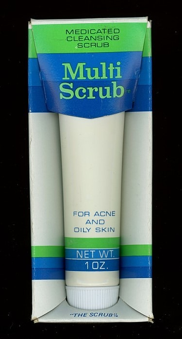 MultiScrub Medicated Cleansing Scrub for Acne and Oily Skin