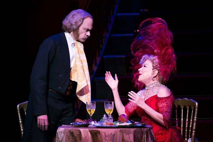 David Hyde Pierce and Bette Midler in the 2017 Broadway revival of Hello, Dolly!