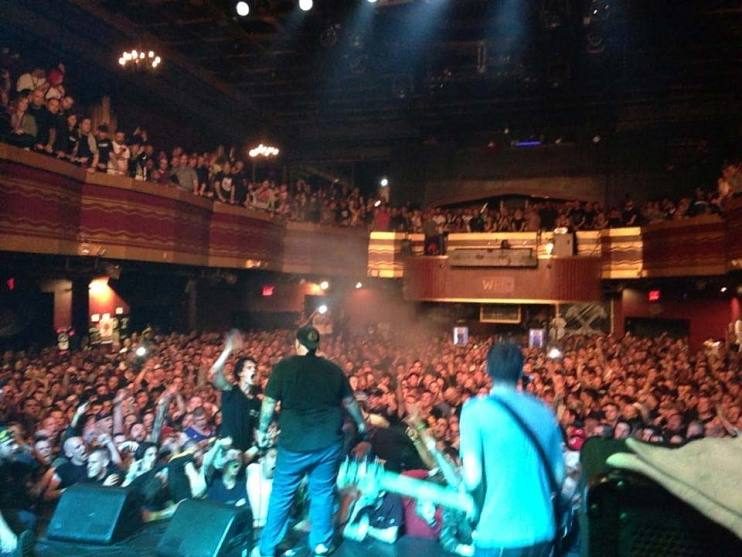 First Judge reunion show, headlining the Black n' Blue Bowl at Webster Hall, New York City, in 2013