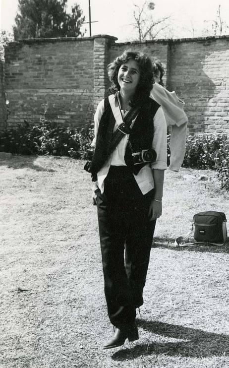Gigi Pritzker in Nepal in 1982