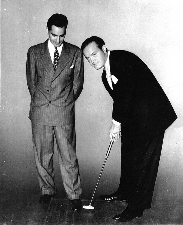 Brian Roberts' father, Ralph Roberts, and Bob Hope