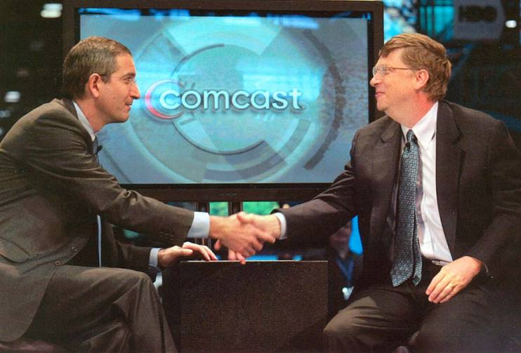 Brian Roberts and Bill Gates