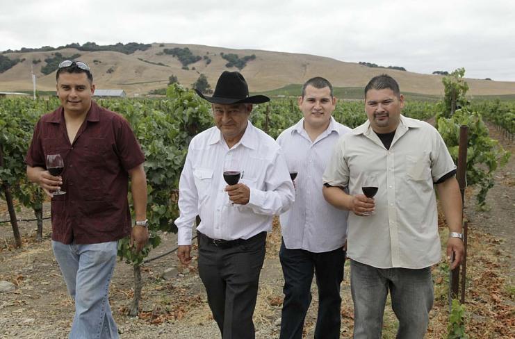Winery family, 2010