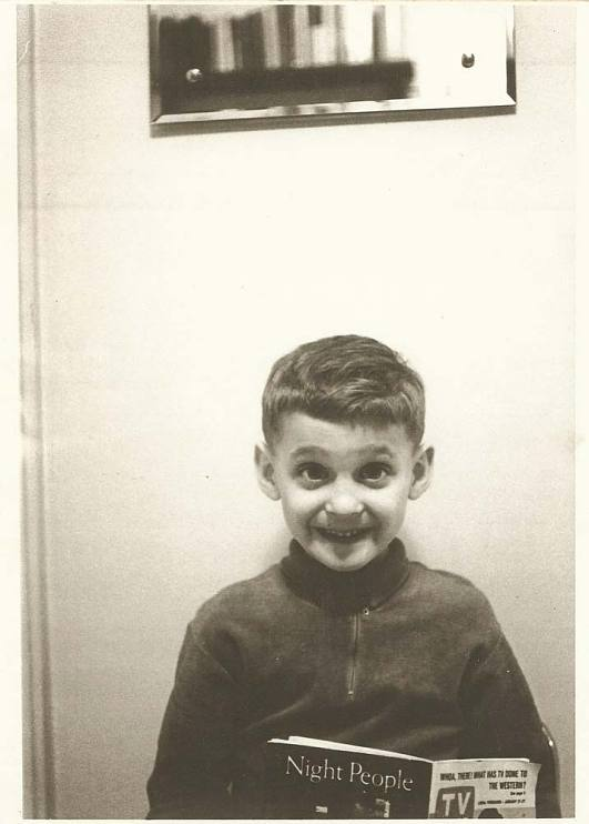 Phil Rosenthal as a child