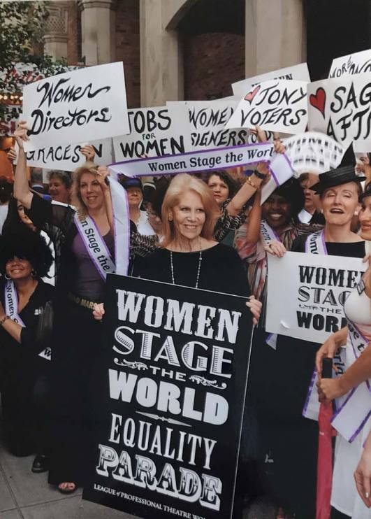Daryl Roth supporting women in theater
