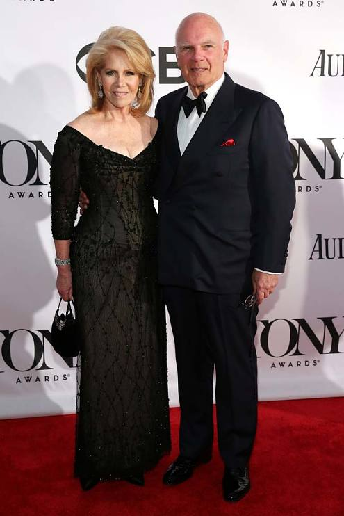 Daryl and Steven Roth at Tony Awards, 2014