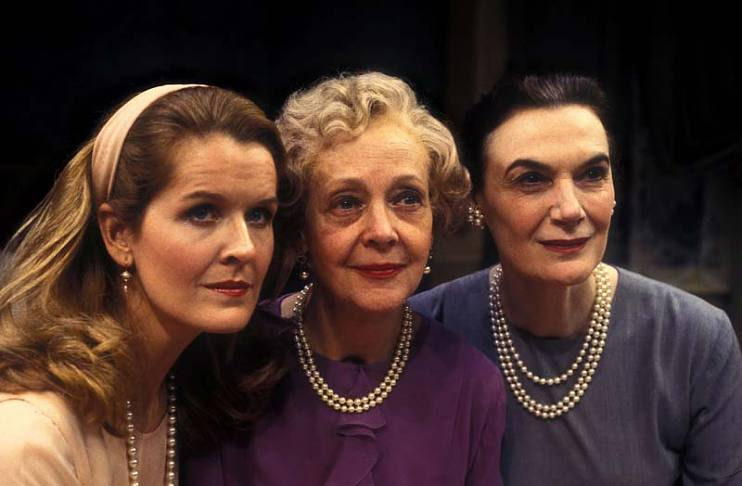"The original ""Three Tall Women"": Jordan Baker, Myra Carter, and Marian Seldes"