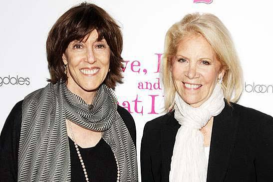 Daryl Roth and Nora Ephron from Love, Loss, and What I Wore