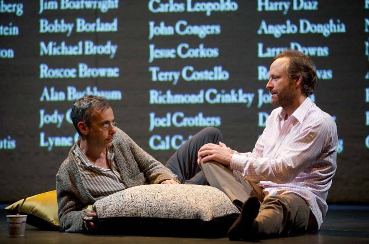 Joe Mantello and John Benjamin Hickey starring in the The Normal Heart