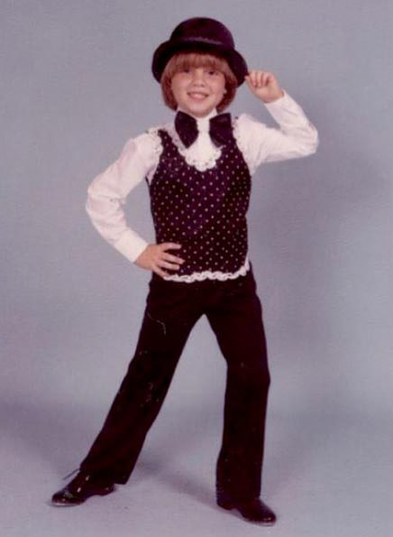 Jordan Roth in a recital for Ms. Toozey's dance class as a child