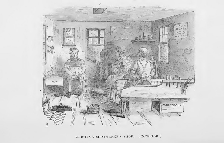 Ten-footer shop, mid-1800s