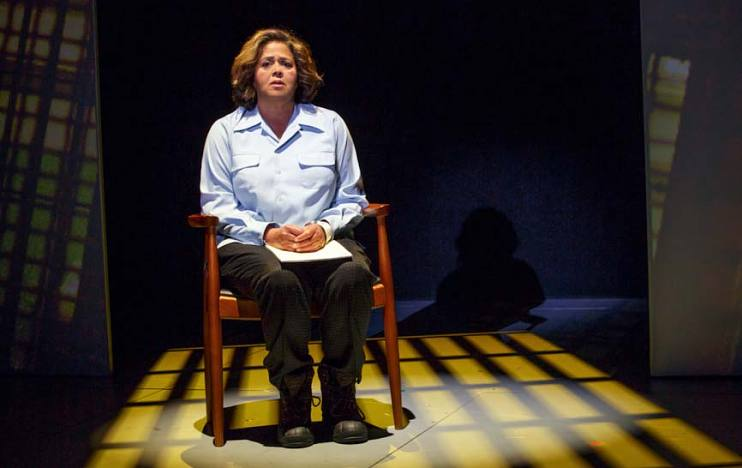 Anna Deavere Smith portrays Denise Dodson (an inmate at Maryland Correctional Institute for Women) in her play Notes from the Field