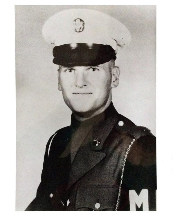 Drafted as a military policeman, 1965