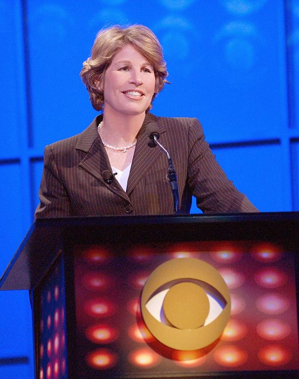 Nancy Tellem at the 2004 CBS Affiliates Conference in Las Vegas, Nevada