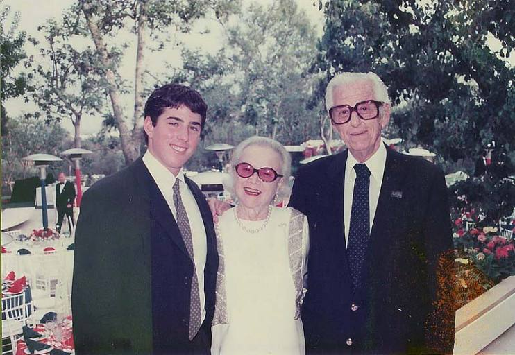 Casey, Edith, and Lew Wasserman