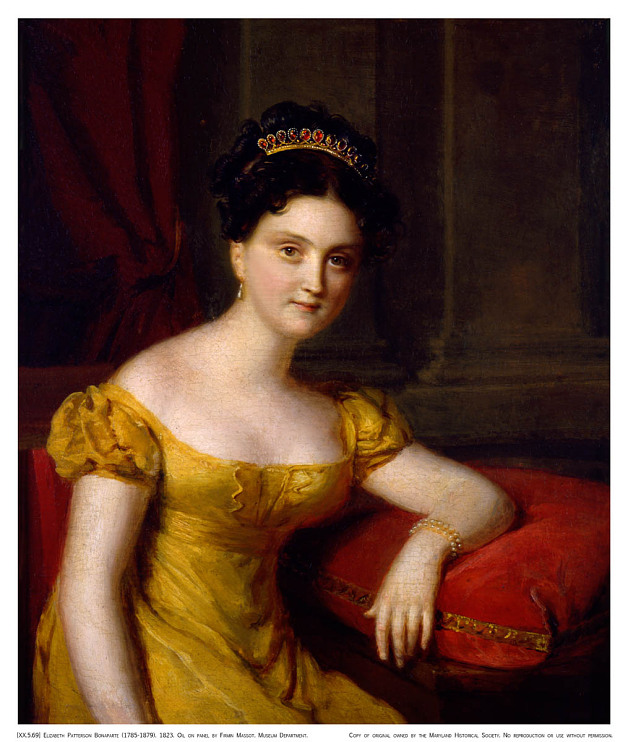Elizabeth Patterson Bonaparte, 1785–1879