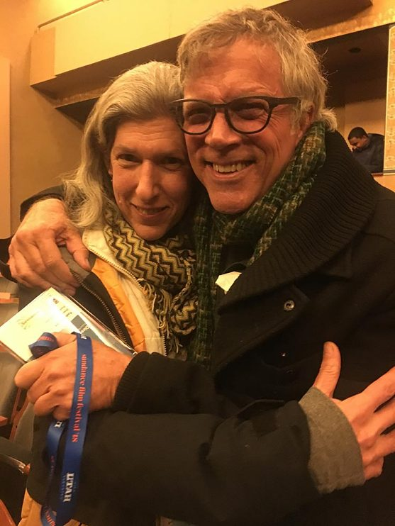 With director Todd Haynes at Sundance Film Festival in 2018