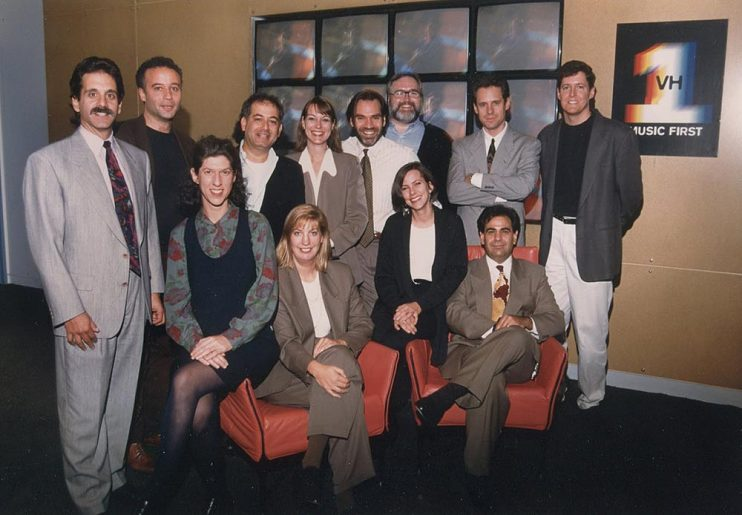 Early days at VH1 in 1994