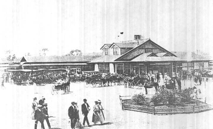 Cruz Depot, 1890s