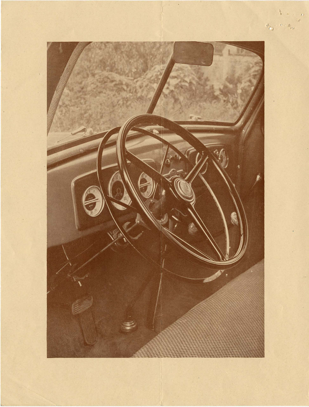 Image of the Stone Control steering wheel from the Stone Control Catalogue