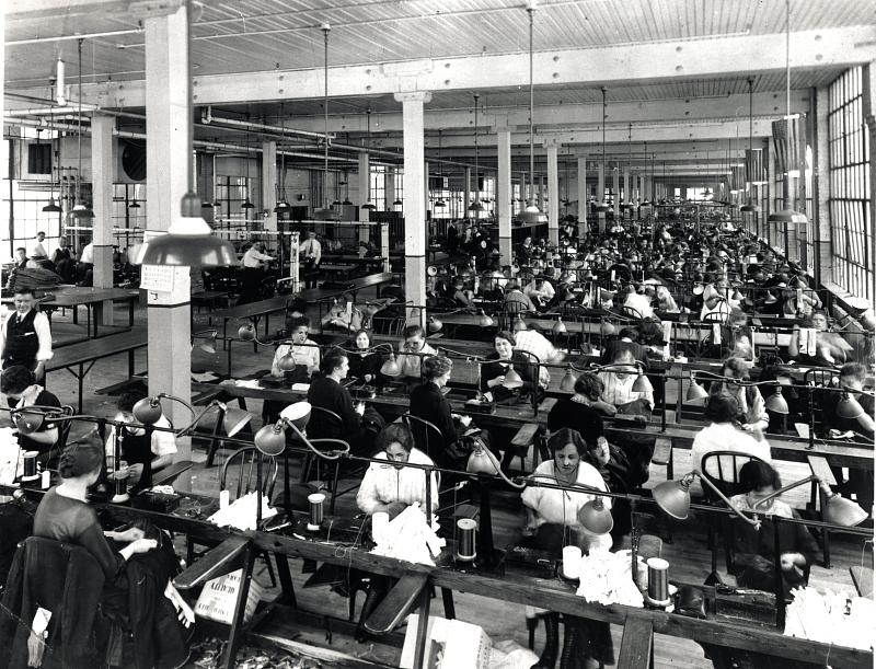 Sweatshops 1880 1940 National Museum Of American History