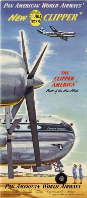 Pan Am Stratocruiser Brochure Cover