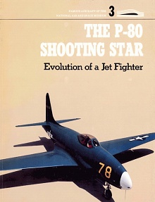 Book cover: The P-80 Shooting Star