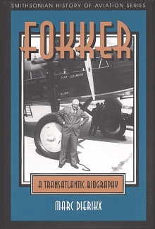 Book Cover: Fokker: A Transatlantic Biography