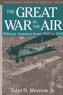 Book cover: The Great War in the Air