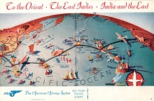 Pan Am Brochure, Map