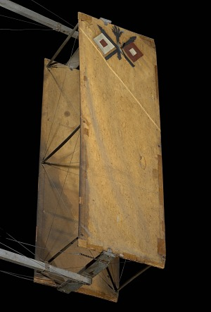 Canvas boxed-shaped part of 1909 Wright Military Flyer aircraft-thumbnail 55