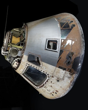 Rotated side of conical-shaped spacecraft-thumbnail 2