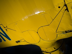 View of the Staggerwing main-gear bay doors-thumbnail 9