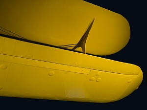 Closeup view of the Staggerwing's upper and lower wings-thumbnail 10