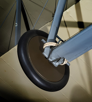 Wheel and tire on bottom of Sopwith 7F.1 Snipe-thumbnail 5