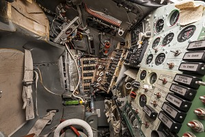 Cockpit of the Mercury Friendship 7