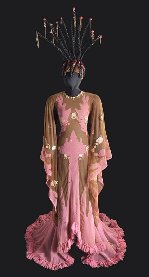 Image for Costume for Glinda the Good Witch in The Wiz on Broadway