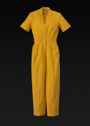 Image for Yellow jumpsuit designed by Willi Smith