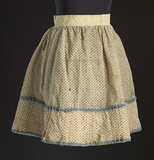 Image for Printed floral skirt worn by Lucy Lee Shirley as a child